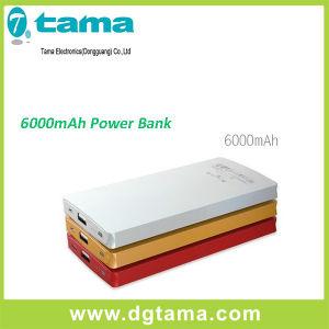 Wholesale Slim Aluminium 6000mAh Power Bank with Li Ploymer
