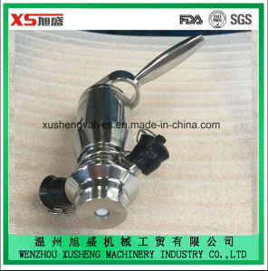 Stainless Steel Ss316L Food Grade Aspetic Sampling Plug Cocks and Valves pictures & photos