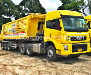 FAW J5p Heavy Duty Trailer Truck, road tractor 6X4 pictures & photos