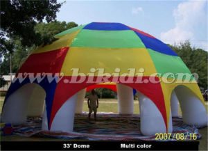 Giant Inflatable Spider Dome Tent for Car Show K5091 pictures & photos