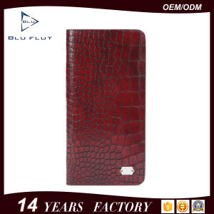 Large Capacity Men′s Genuine Embossed PU Leather Coin Wallet Purse pictures & photos
