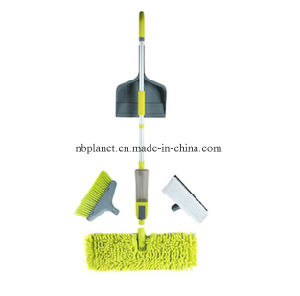 Multi-Cleaner with Spray Mop Broom Dust Pan Window Wiper - New Design! pictures & photos
