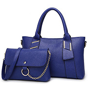 Classic Style Ladies Handbags 2PCS in 1 Sets Tote Bag Sy7891 pictures & photos