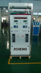 Zcheng New Star Series 4nozzle LED Fuel Dispenser Gas Station Two Nozzle Fuel Pump pictures & photos