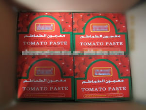 Al Mudish Wholesale 70g Sachet Tomato Paste with High Quality pictures & photos