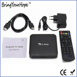 Tx3 PRO S905X Android 6.0 1GB+8GB Smart TV Box (XH-AT-011) pictures & photos