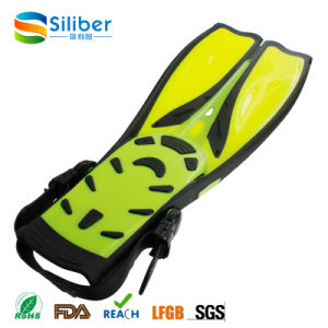 Durable Eco-Friendly Rubber Long Snorkeling Swimming Diving Fin pictures & photos