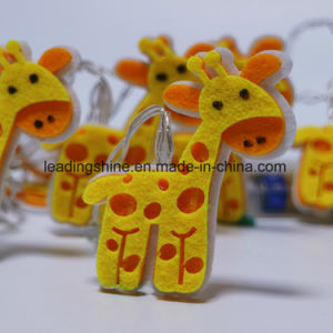 Colorful Giraffe 40 LED Starry Light Fairy Light for Garden Patio Yard Christmas Tree Decor pictures & photos