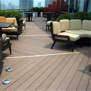 2015 Hot Sales WPC Flooring for Outdoor Swimming Pool (135*25mm) .
