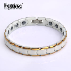 Factory Promotion Lady Style Magnetic Ceramic Bracelet for Health Benefit pictures & photos