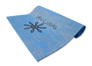 Natural Jute Yoga Mat with Printing pictures & photos