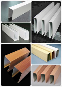 Decorative Aluminum U-Shaped Baffle Ceiling pictures & photos