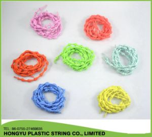Hot Sale Elastic No Tie Bamboo Knot Shoelace pictures & photos