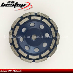 Double Row Diamond Grinding Cup Wheel pictures & photos