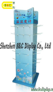 Customized Hold Earphone Pop Cardboard Display Stand with Hooks (B&C-B051) pictures & photos