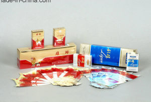 Cigarette Box Inner Liners Use Aluminium Coated Paper pictures & photos