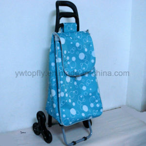 3 Wheeled Foldable Multipurpose Easy Storage Climbing Metal Trolley Cart pictures & photos