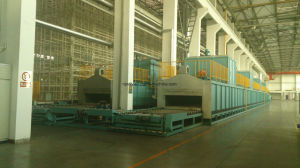 Roller Hearth Type Annealing Furnace for Steel Wire (Industrial Furnace) pictures & photos