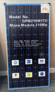 210W Blue Back Solar Panel, Germany Material, Better Quality pictures & photos