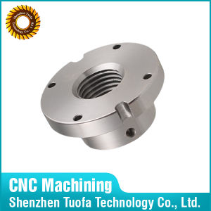 OEM CNC Machining Flange Nut Stainless Steel Part