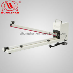 Aluminum Body Heat Hand Sealer Impulse Sealing Machine with Cutter pictures & photos