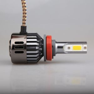All in One Design Aluminum Material COB Chip LED Headlamp pictures & photos