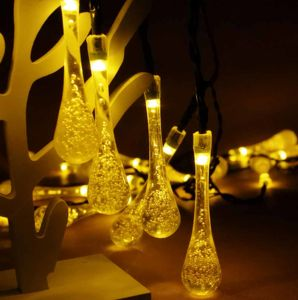 Water Drop String Lights Christmas Decoration Lighting Garden Raindrop Lights pictures & photos