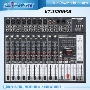 Mixer USB Interface Module LED Display Mixing Console pictures & photos
