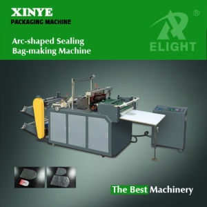 Auto Arc Shaped Sealing Bag Making Machine pictures & photos