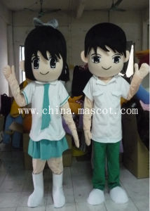 Lovers Suit Mascot Costume - Can Be Customized Your Style