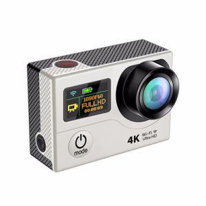 "4k Action Camera Ultra 1080P HD WiFi Sport Video Camera 170d Wide Angle 2"" Dual Screen 30m Waterproof WiFi Cam"