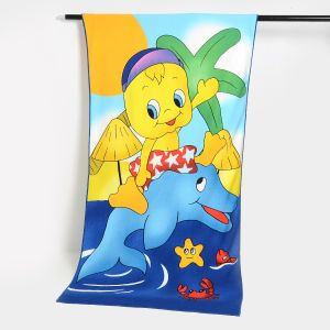 Promotion Microfiber Beach Towel with Reactive Printing pictures & photos