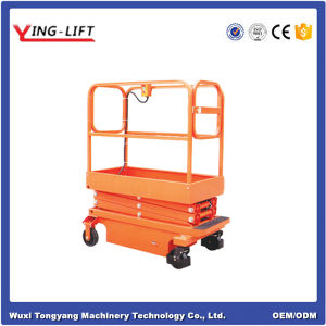 300kg Max 3.9m Lifting Height Mini Scissor Type Work Platform pictures & photos