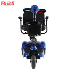 Three Wheels Compact Handicapped Scooter Electric Foldable Mobility Scooter pictures & photos