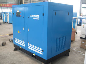 Air Cooled Electric Oil Fooled Rotary Screw Stationary Compressor (KD75-10) pictures & photos