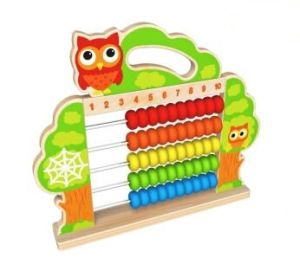 New Fashion Wooden Bead Abacus Rack Toy for Kids and Children pictures & photos