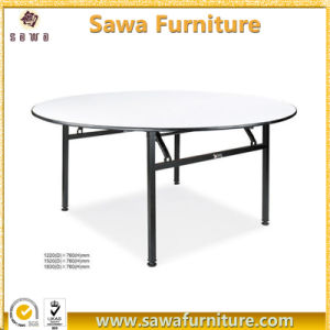 Wholesale Events 6FT Wood Dining Round Table pictures & photos