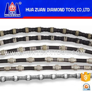 Professional Diamond Wire Saw for Marble Cutting Quarrying pictures & photos