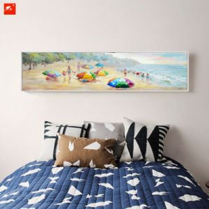 Seaside Wall Art Beach Scene Oil Painting on Canvas pictures & photos