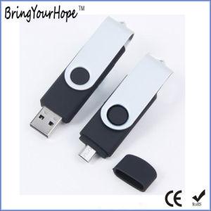 16GB OTG USB Memory Stick 2.0 in Black (XH-USB-001OTG) pictures & photos