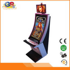 Bent Screen Coin Operated Gambling Casino Slot Game Machine for Sale pictures & photos