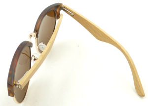 Fxpw161354 Quality Clubmaster Sunglass, Bamboo Temple Sunglasses, Fashion Women Sun Glasses pictures & photos