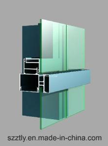 Anodizing Aluminium/Aluminum Extrusion Profile for Curtain Walls pictures & photos