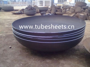 Carbon Steel Elliptical Dished Seal Head Ends Cap for Pressure Vessel Caps