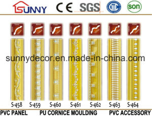 Decoration PU Moulding, PU Carving Cornice Moulding, High Quality Polyurethane Moulding pictures & photos