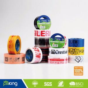 19 Years Professional Manufacturer Supply Acrylic BOPP Packing Printed Tape pictures & photos