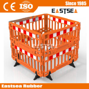 HDPE Plastic Blowing Stackable Road Safety Barrier Fence pictures & photos