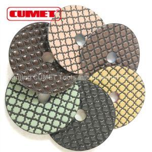 Dia-Plus 4 Inch Dry Diamond Polishing Pads pictures & photos