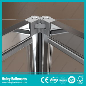 Hot Selling Folding Shower Enclosure with Tempered Laminated Glass (SE921C) pictures & photos