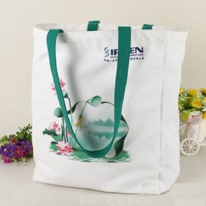 Fashion Leisure Modern Cotton Canvas Shopping Bag Handbag Tote Bag pictures & photos